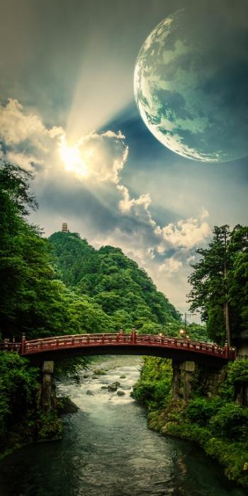 Фантастические пейзажи природы картинки