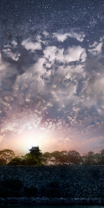 Слияние неба и земли.