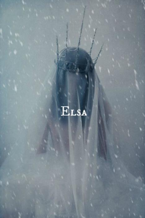 Холодная Эльза. Автор идеи: Нэфели (Nefeli).