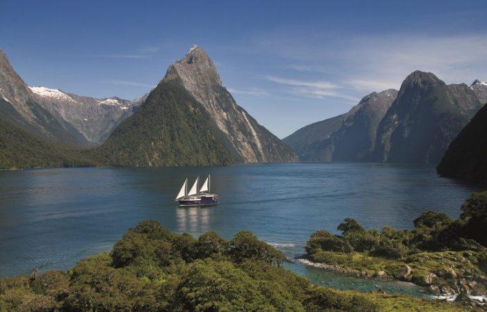 Прогулка по Новой Зеландии.