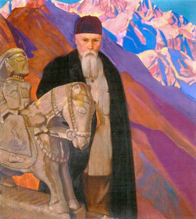 Портрет Николая, Святослав Рерих, 1937 год. \ Фото: google.com.