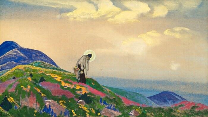 Пантелеймон-целитель, Николай Рерих, 1916 год. \ Фото: yandex.ua.