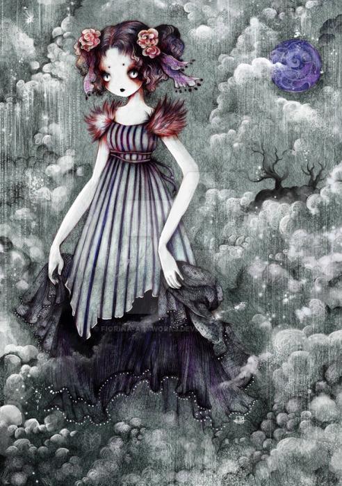 Призрак Невесты. Дождь Яркие работы Николы Робин (Nicola Robin).