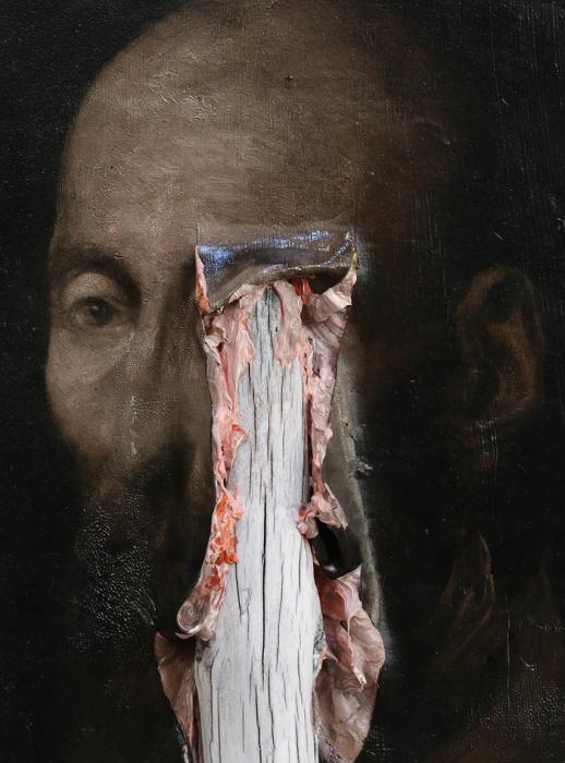 Крепкая линия (Ligne Robuste). Автор работ: итальянский художник Никола Самори (Nicola Samori).