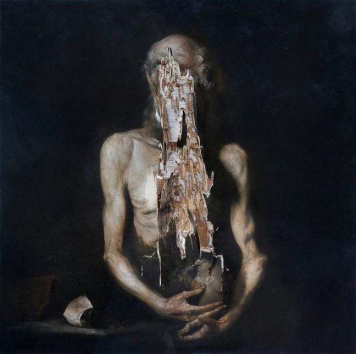 Открытие (Лучшее для Павла) Aperto (Il bene di Paolo). Автор работ: итальянский художник Никола Самори (Nicola Samori).