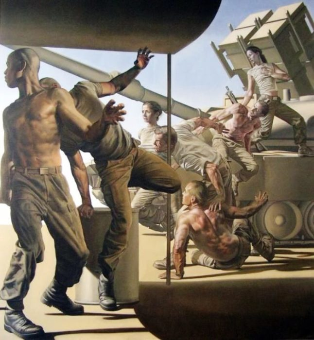 Армия. Автор: Nicola Verlato.