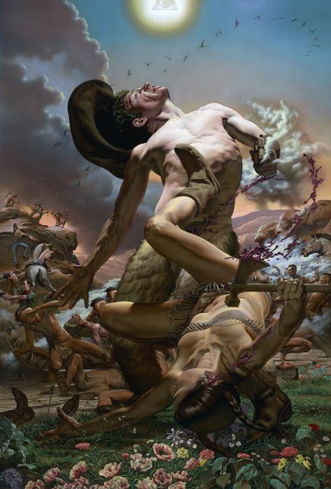 Завоевание Запада. Автор: Nicola Verlato.