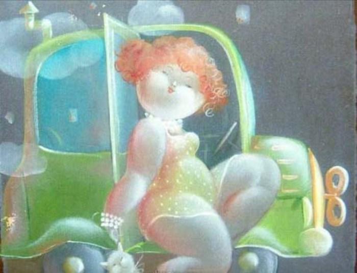Душечки-пампушечки в работах художника Никола Виетти (Nicola Vietti).