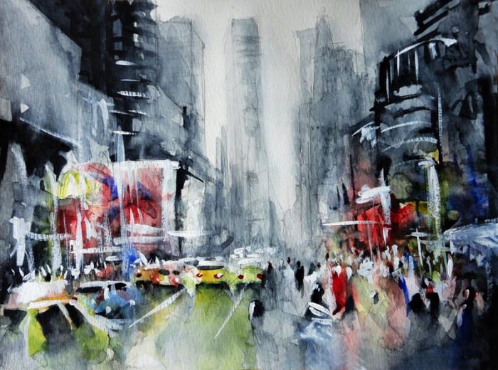 Городские улицы. Автор: Nicolas Jolly.