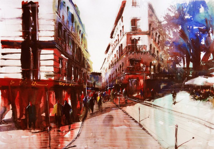 Дыхание парижских улиц. Автор: Nicolas Jolly.