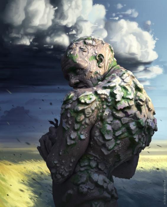 Голем. Автор: Никита Веприков.