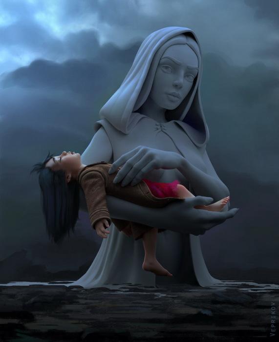 Мать. Автор: Никита Веприков.