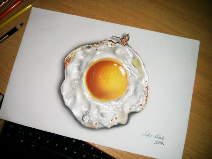 Яичница. Автор: Nikola Culijc.