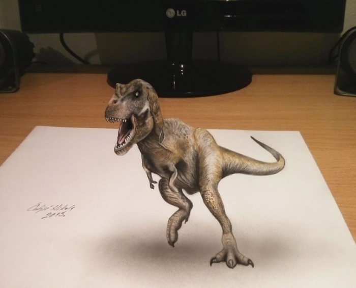 Тираннозавр. Автор: Nikola Culijc.