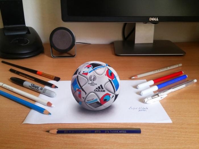 Футбольный мяч. Автор: Nikola Culijc.