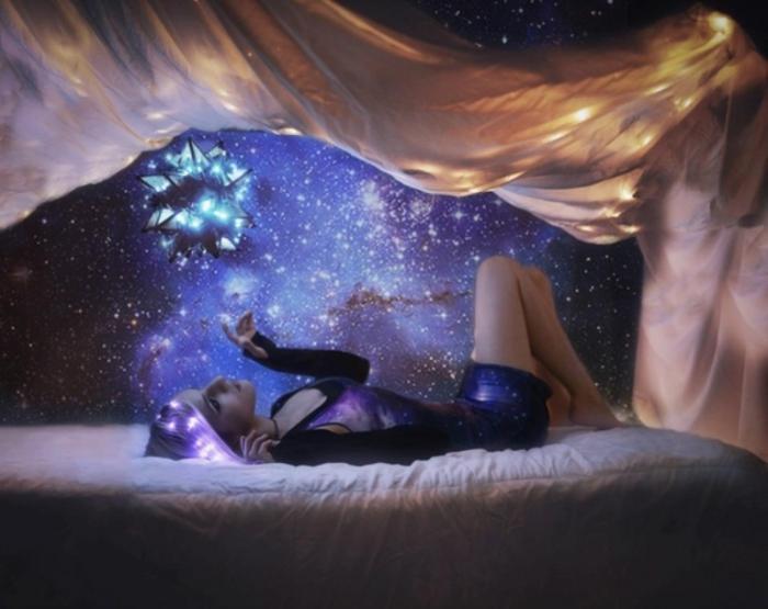 Мечтая о звёздах. Автор фото: Николь Киндра (Nikole Kindra).