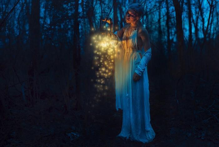Таинственный свет. Автор фото: Николь Киндра (Nikole Kindra).