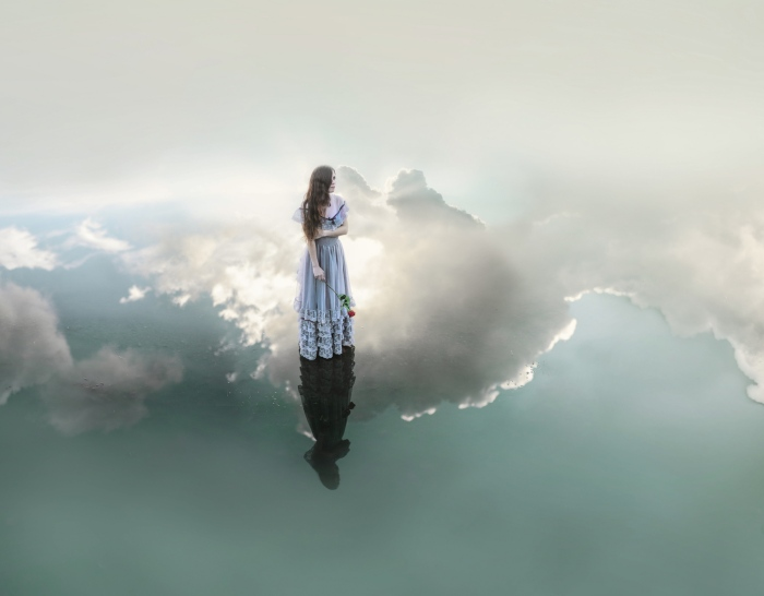 Витая в облаках. Автор фото: Николь Киндра (Nikole Kindra).