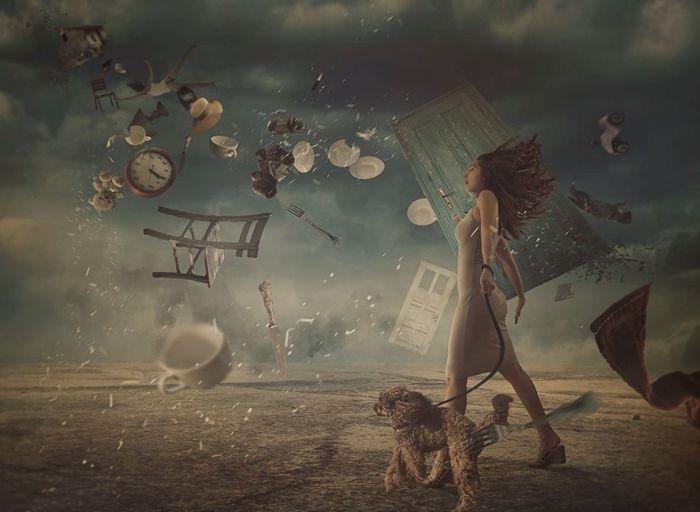 Хаос. Автор: фотохудожник Николина Петолас (Nikolina Petolas).