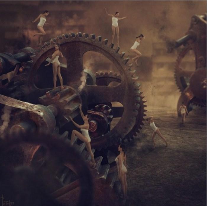 Механизм. Автор: фотохудожник Николина Петолас (Nikolina Petolas).