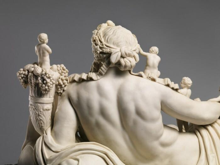 Фрагмент: Олицетворение реки Нил (и детали), Джованни Вольпато, ок. 1785-1785 гг. \ Фото: fundamental.berlin.