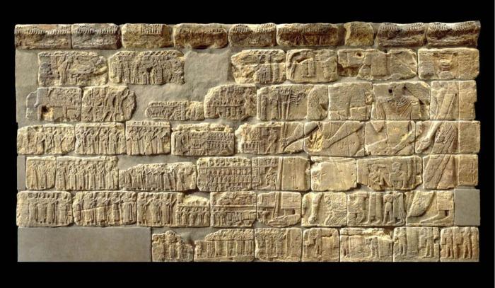 Рельеф с южной стены погребальной часовни королевы Мероэ, II век до н.э. \ Фото: britishmuseum.org.