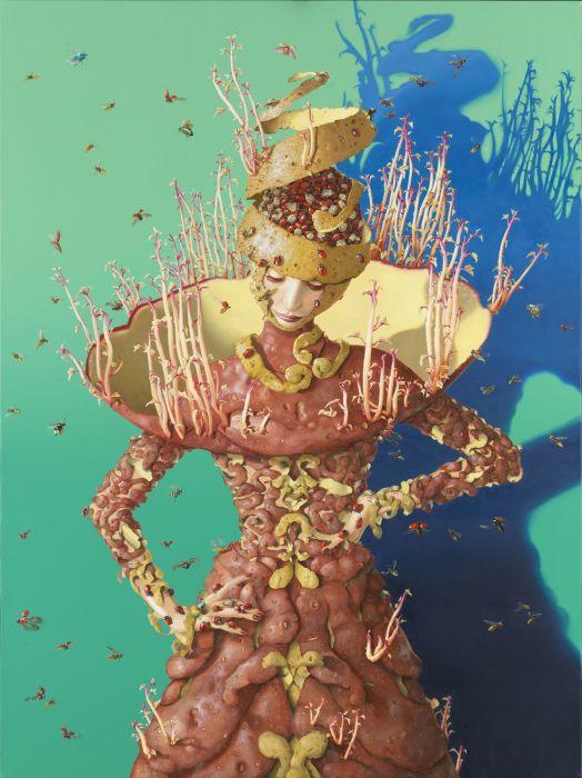 Жуки и картошка. Автор: Nils Gleyen.