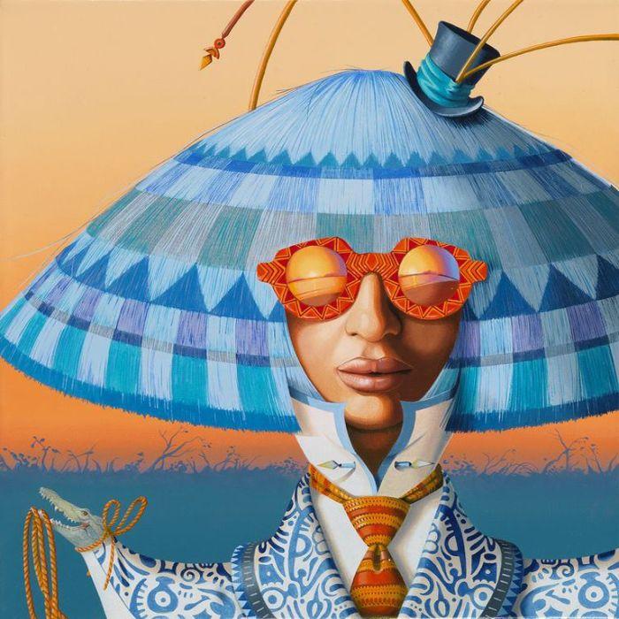 Африканская красотка. Автор: Nils Gleyen.
