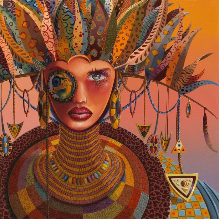 Африканские мотивы. Автор: Nils Gleyen.