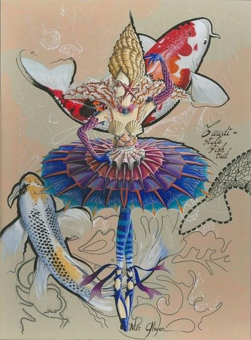 Морской балет. Автор: Nils Gleyen.