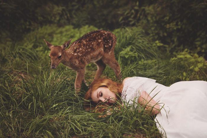 Безмятежный сон. Автор: Nina Wild.