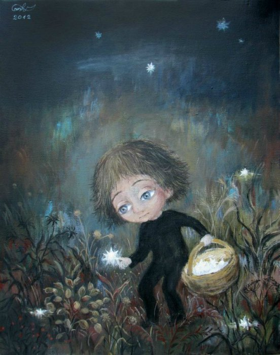 Мечты сбываются. Автор работ: Нино Чакветадзе (Nino Chakvetadze).