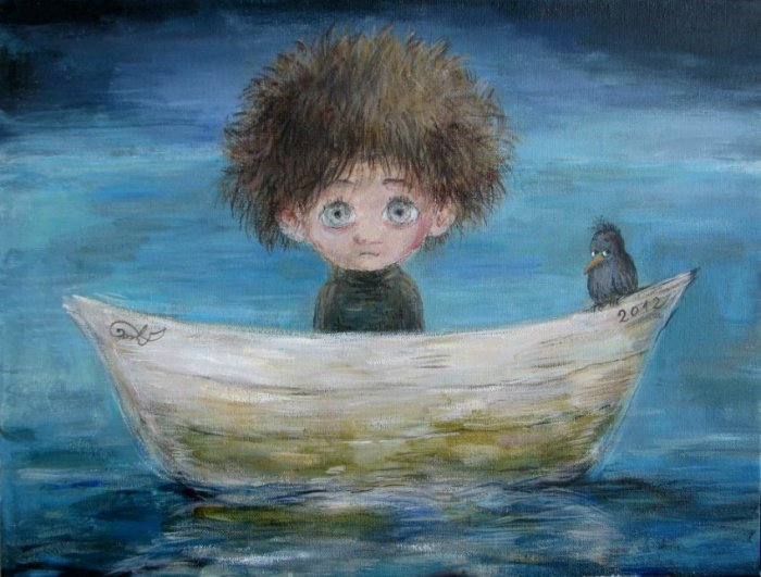 Путешествие в страну грёз. Автор работ: Нино Чакветадзе (Nino Chakvetadze).