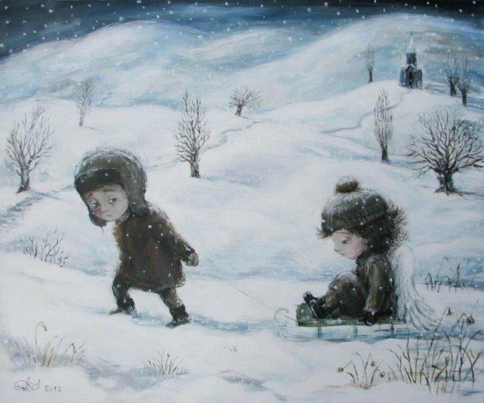Великолепные работы Нино Чакветадзе (Nino Chakvetadze).