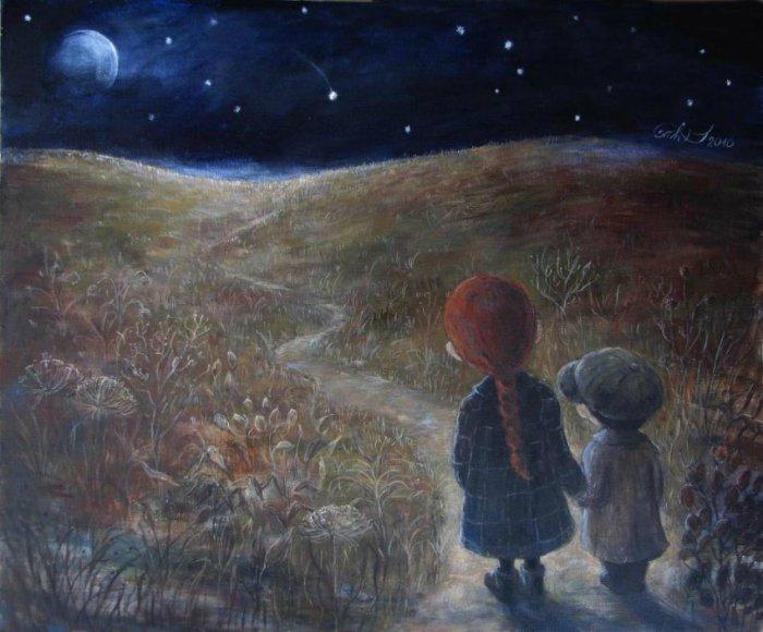 Волшебные работы картины, которые возвращают нас в детство. Автор работ: Нино Чакветадзе (Nino Chakvetadze).