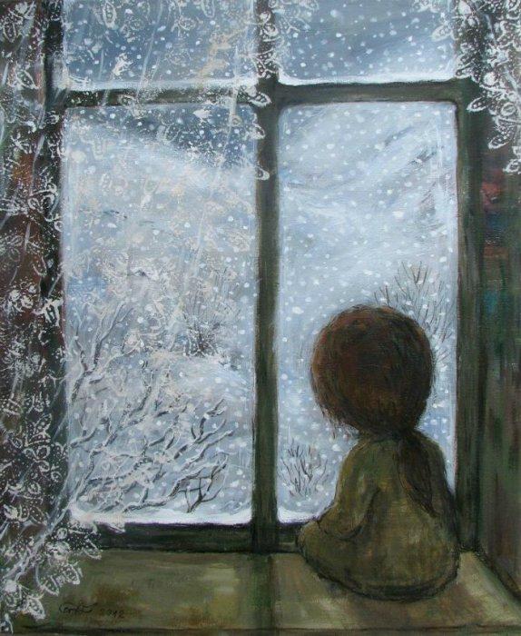 А там далеко... Автор работ: Нино Чакветадзе (Nino Chakvetadze).