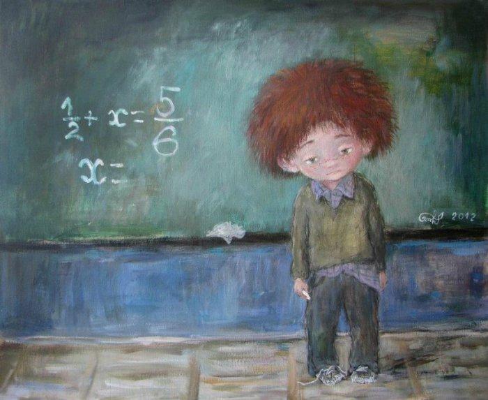 Искренние, милые и по-детски прекрасные работы Нино Чакветадзе (Nino Chakvetadze).