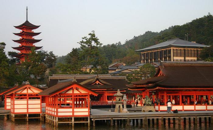 Святилище Ицукусима.