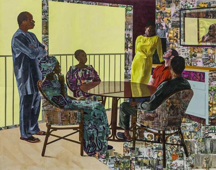 Картина «I Still Face You», Нидека Акуниили Кросби, 2015 год. \ Фото: postscriptmagazine.org .