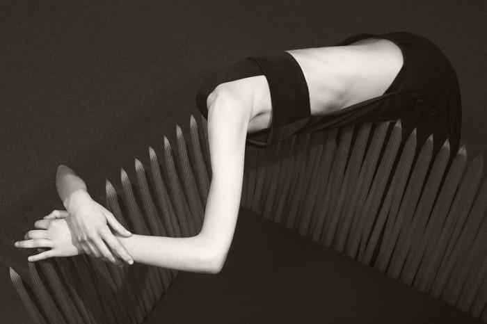 Sonia Rykiel, 2015 год. Монохромные работы Ноэ Сендаса (Noe Sendas).