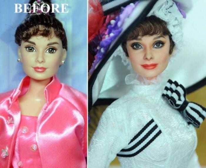 Одри Хепберн в роли Элизы «Моя прекрасная леди». Автор: Noel Cruz.