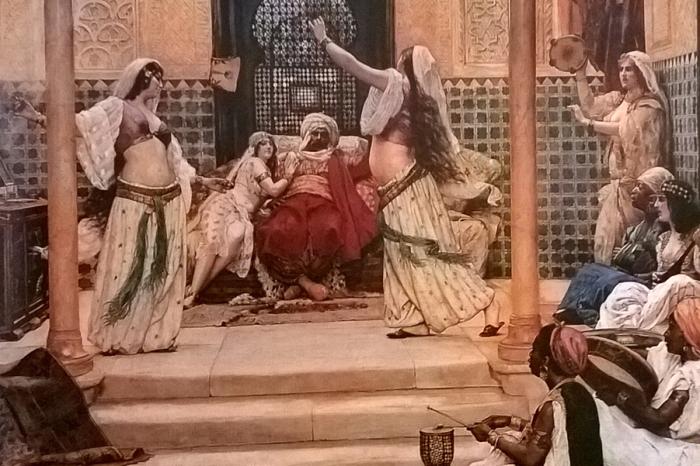 Султан Ибрагим и его гарем. \ Фото: google.com.ua.
