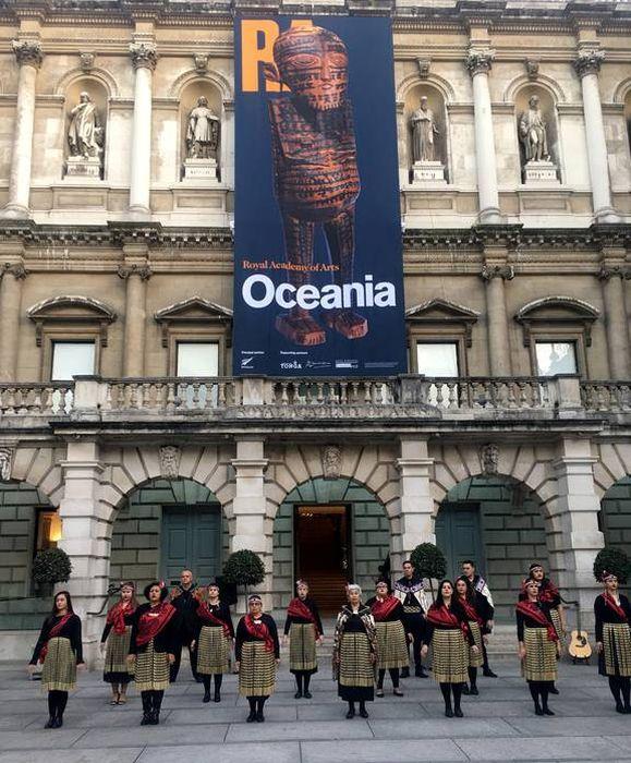 Выставка в Океании. \ Фото: pinterest.com.