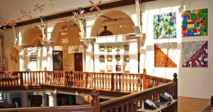 Фотография выставочного пространства Pasifika Styles в Музее археологии и антропологии Кембриджского университета. \ Фото: blogspot.com.