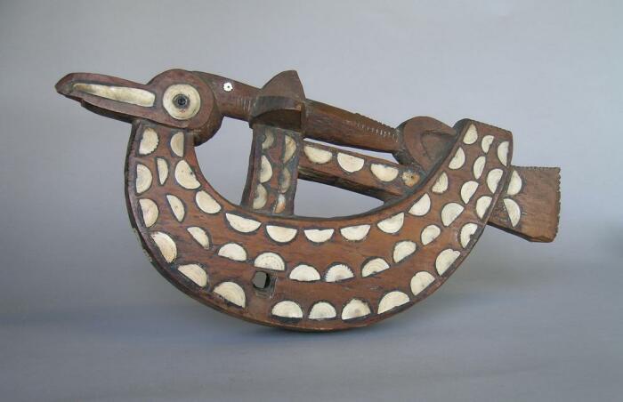 Поплавок для ловли птиц с Соломоновых островов, конец XIX века. \ Фото: britishmuseum.org.