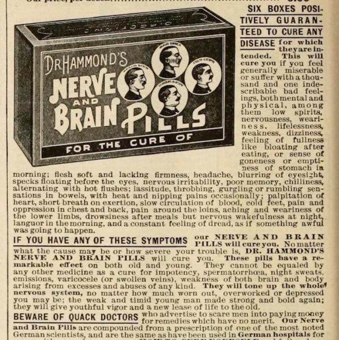 Таблетки для мозга.