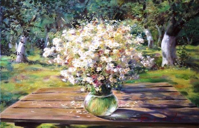 Букет полевых цветов. Автор: Олег Буйко.