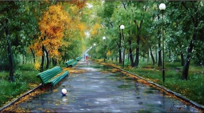 В гостях у осени. Автор: Олег Буйко.