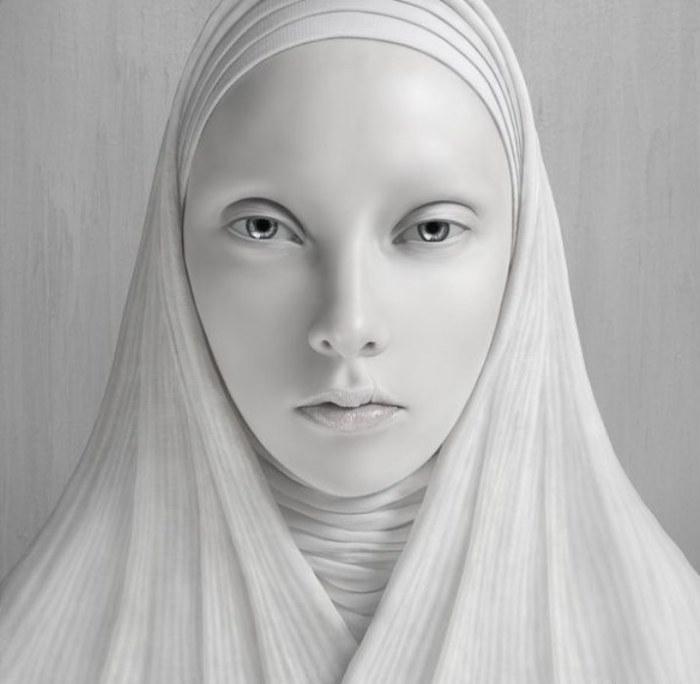 Мать. Фотоиллюстрация от Oleg Dou.