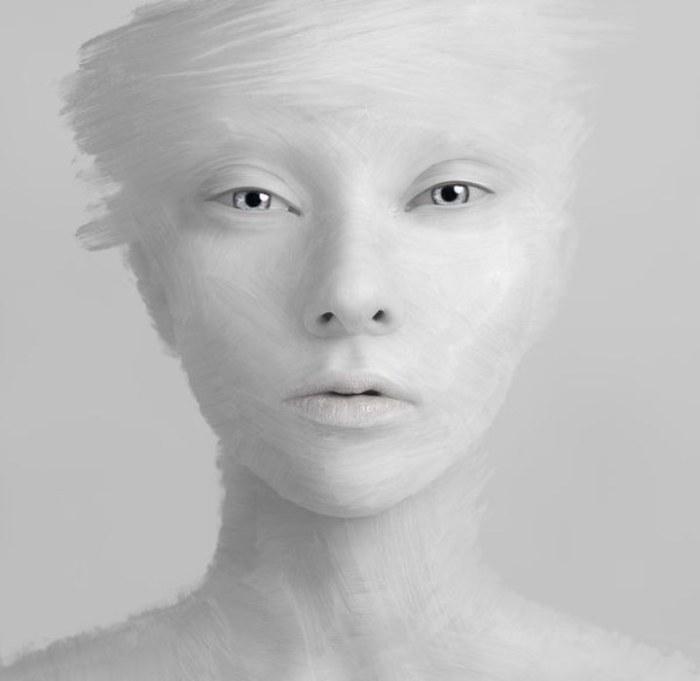 Альбинос.
